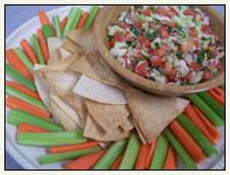 Crab & Citrus Salsa