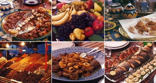 Moroccan cuisine is known for its bright colors and big flavors (Photo by Dustan Hoffman / Crown Prince)