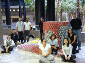 Dattner Architects CANstruction creative team