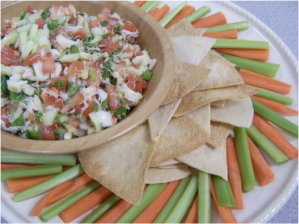 Crab and Citrus Salsa