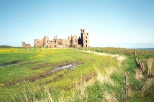 Scenic Slains Castle near Cruden Bay in Aberdeenshire, Scotland. Photo rights: Dustan Hoffman / Crown Prince