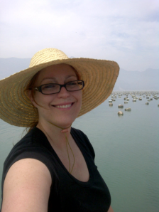 Dustan Hoffman in Fozhou, China - Oyster beds