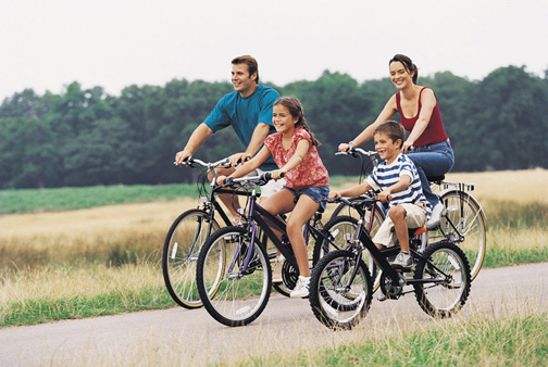 The Together Counts™ campaign promotes the advantages of family meals and physical activity.