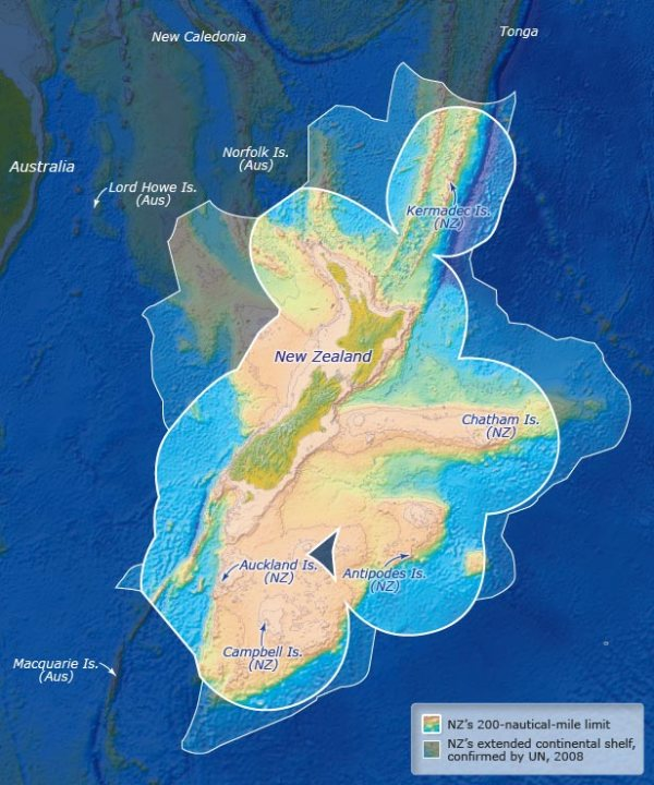 Exclusive Economic Zone of New Zealand
