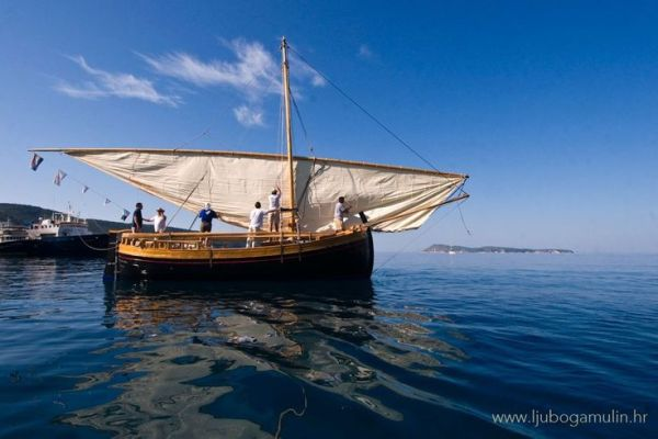 Croatian Lateen Sail Boat
