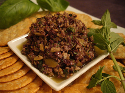 Anchovy Olive Tapenade