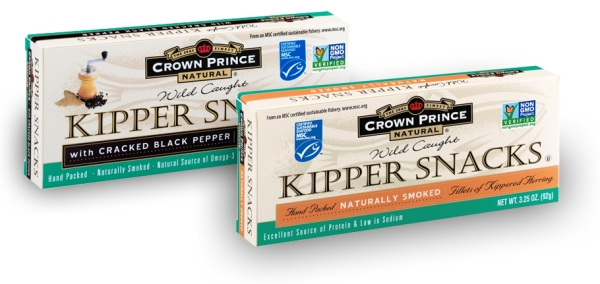 Crown Prince Natural Kipper Snacks