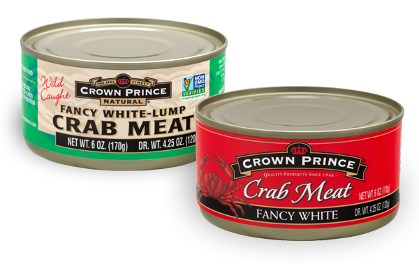 Crown Prince and Crown Prince Natural Crab Meat